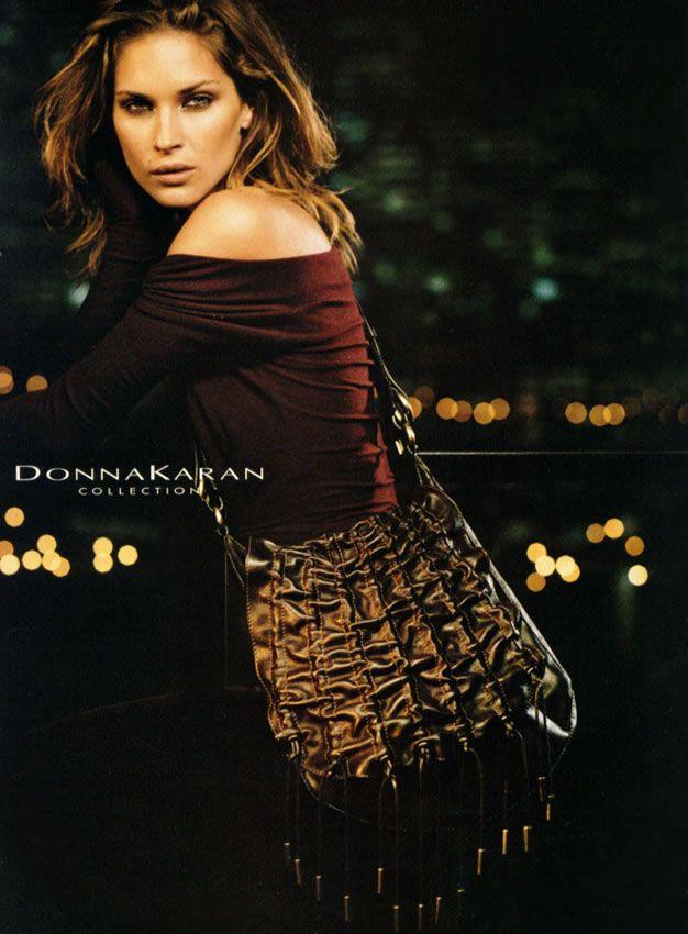 DONNA KARAN FW04 - Erin Wasson by Peter Linbergh
