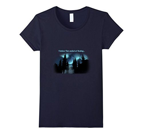 Women's I Believe Fate Smiled at Destiny Trending Now T-S... https://www.amazon.com/dp/B01HHB9078/ref=cm_sw_r_pi_dp_Z5BBxb15H76NF  Aurora Borealis is beautifully depicted in all of her majestic glory along with this special message - I believe Fate smiled at Destiny. If you believe in things happening for a reason, believe Fate and Destiny smiled down on you - this beautifully designed t-shirt is for you.