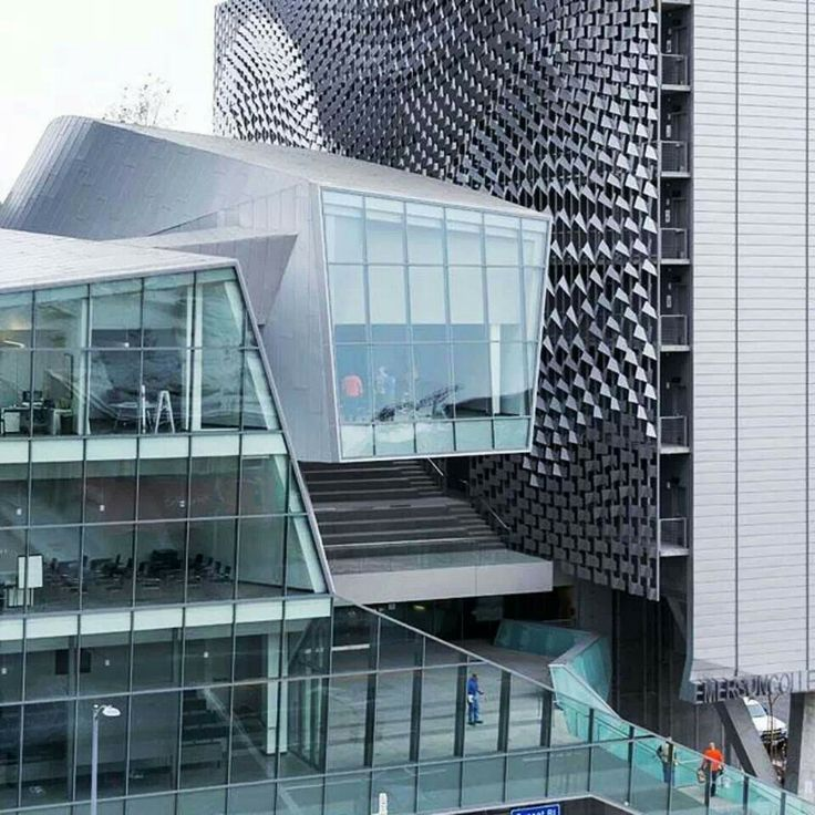 Open Emerson college Morphosis architects