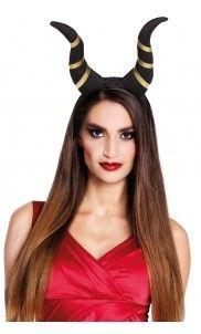 Met deze duivelse tiara ga je pas echt op een demoon lijken!  halloween   699060ee5f8