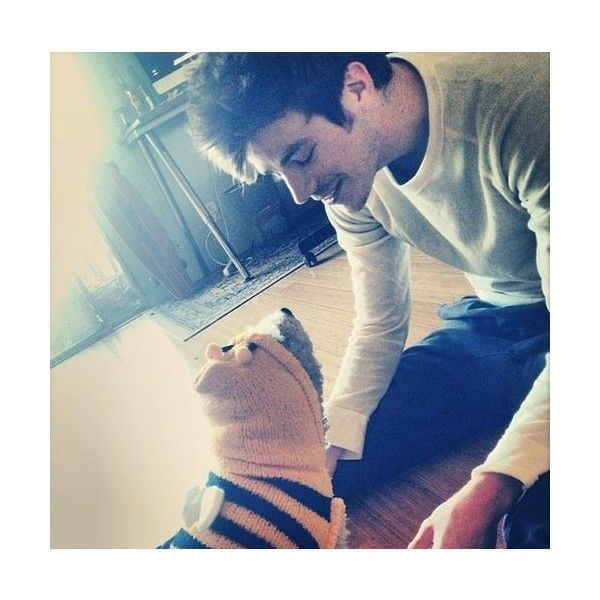 Grant Gustin ❤ liked on Polyvore featuring grant gustin