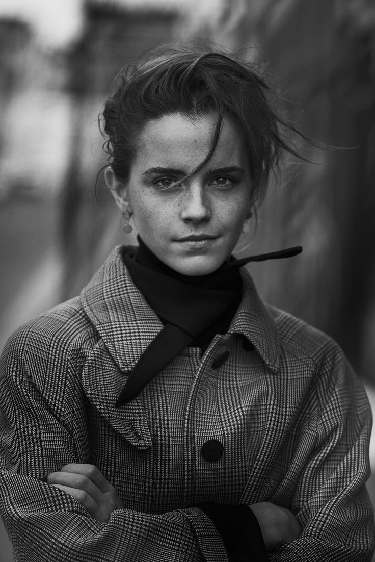 INTERVIEW MAGAZINE - EMMA WATSON - Paryż, 2017 r. - Peter Lindbergh