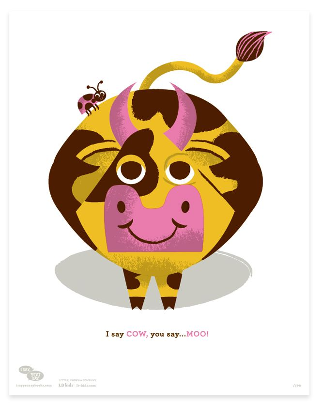 NEW prints from the book series I Say, You Say by Tad Carpenter.