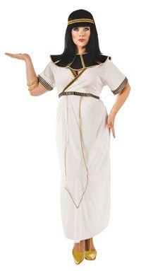 Plus Size White Cleopatra Costume-The Top Plus Size #Halloween Costumes - http://go.shr.lc/1wjICYC via @poshonabudget