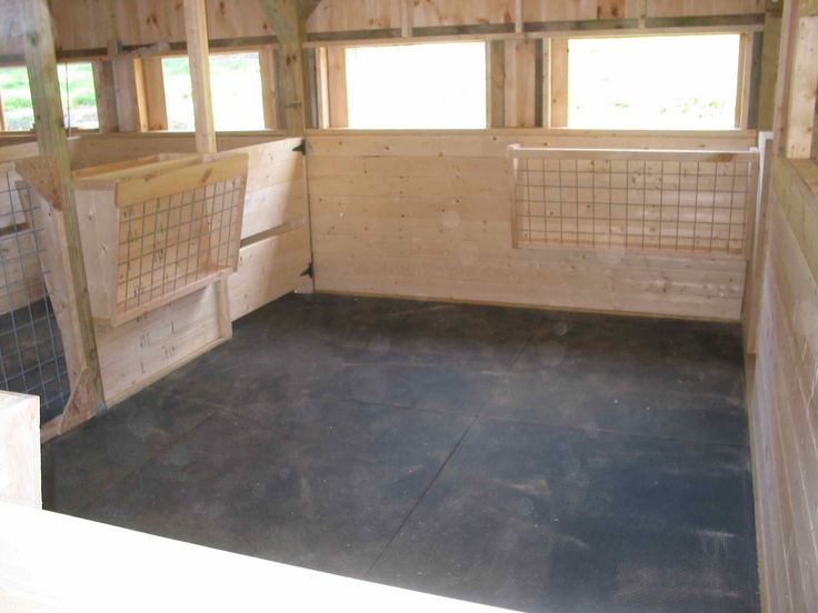 #goatvet likes these clean and bright goat pens from Fox Mountain Farm: Barn Building Progress