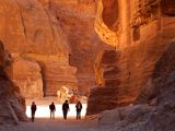National Geographic World's Best Hikes - Petra a back door Hike from Dana with Adventure Jordan Hiking Company
