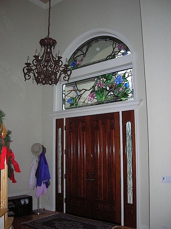 Sensational 86 Best Stained Glass Transoms Doors And Sidelights Door Handles Collection Olytizonderlifede