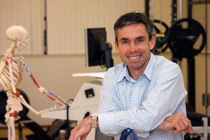 Prof. Steve Stannard, Head of School of Sport & Exercise
