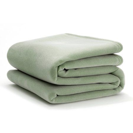 Ultra-Touch Vellux Blanket, Green