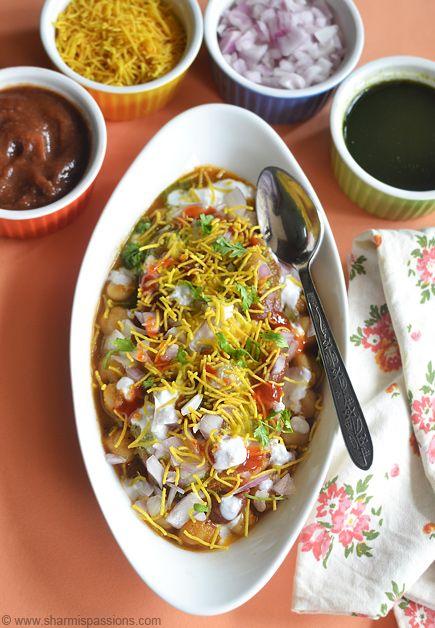 Aloo Tikki Chole Dahi Chaat Recipe