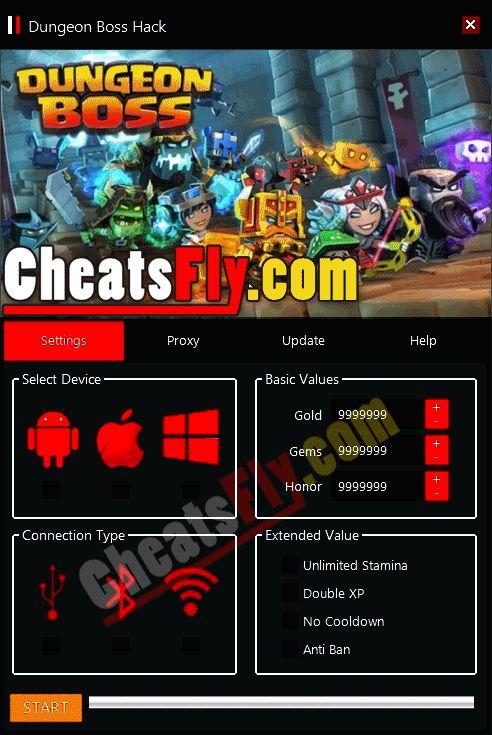 Dungeon Boss Cheats Hack