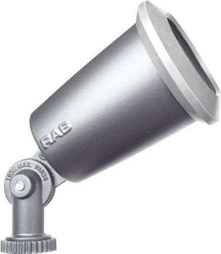 RAB R90S Flood Economy 150W Par38 Max Silver Gray by RAB. $6.51. Cleanly styled metal and PVC slpfitters. Flexi mounting lugs can mount to top or sides.