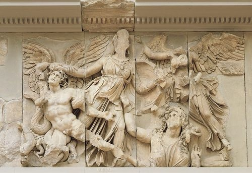 Frieze of Altar of Zeus, Pergamon, Turkey