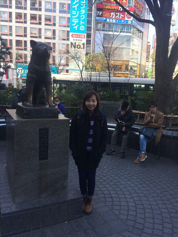 The Famous Hachiko Statue