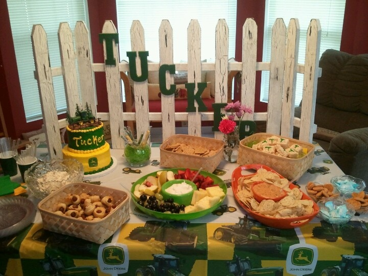 My recent baby shower for a country boy!