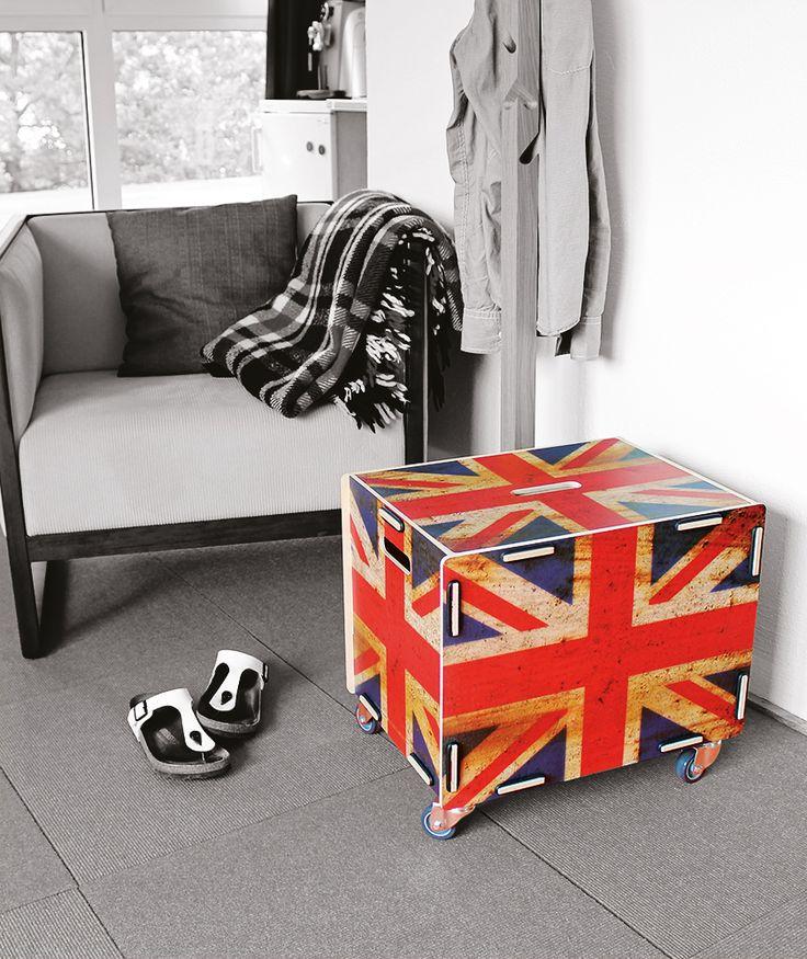 Interieur Design aus Birken-Holz passend zu verschiedenen Wohnstilen – die Rollbox von Werkhaus