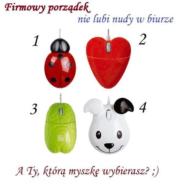 Komputerowe myszki dla optymistów ;)