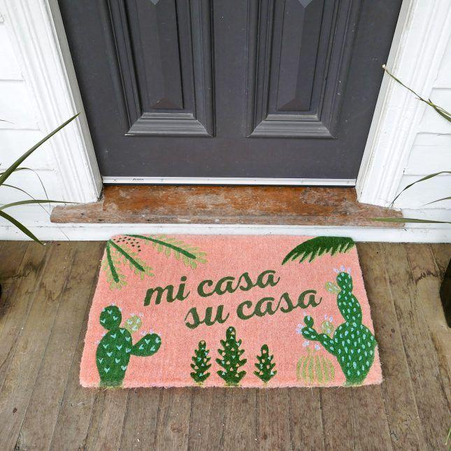 20 Cheeky Doormats That Tell It Like It Is via Brit + Co