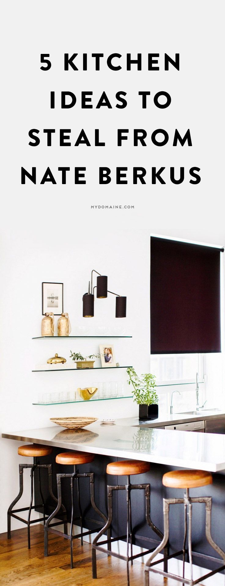 5 ideas to steal from nate berkus s kitchen designs the Nate berkus kitchen design