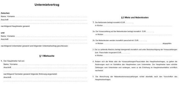 38 Hubsch Mietvertrag Vorlage Immobilienscout24 7