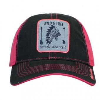 b44fbc48 Wild & Free Cap | Western/Ranch Wear | Hats, Simple southern shirts,  Country hats