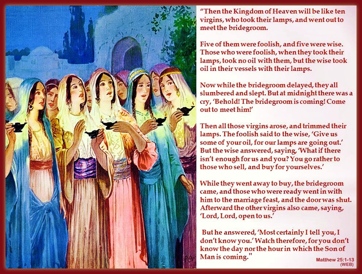 44 best eschatology images on pinterest charts christianity and matthew parables of jesus the ten virgins about christian eschatology aka end time second coming of christ fandeluxe Choice Image