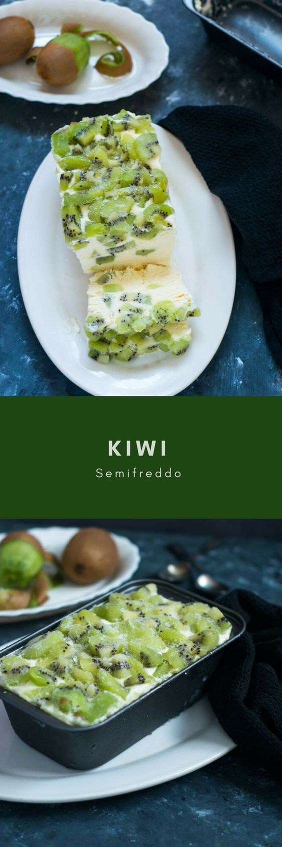 || Kiwi Semifreddo is a very creamy soft and delicious, gluten-free frozen dessert made with kiwis, cream and vanilla custard. So what exactly is a semifreddo, well it is nothing fancy but an Italian semi froze dessert more or less like an ice cream? It is often made with cream and eggs and supposes to …
