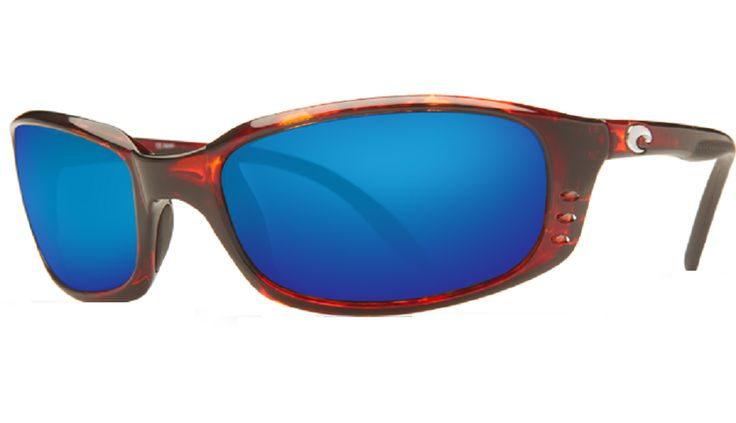 Costa Del Mar Brine 580G Tortoise/Blue Mirror Polarized Sunglasses