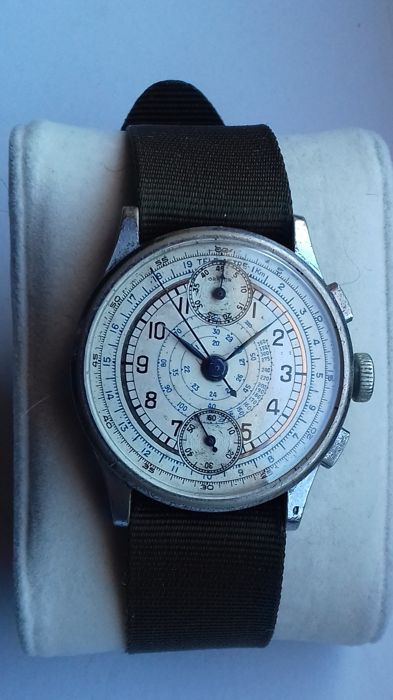 47eb0831908 Currently at the  Catawiki auctions  Orator - Chronograph -Venus 170 -  SERVICED - Men - 1901-1949