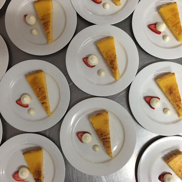 Home style lemon tart