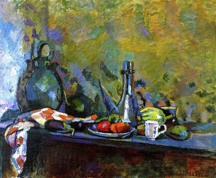 Still LIfe with a Purro / Henri Matisse - 1904