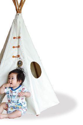 テント遊び 障害物を立体的に目で捉えることにより、空間認識という高度な脳の働きをするにの役に立つ *赤ちゃんの右脳を鍛える*