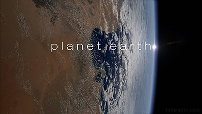 Tv show: Planet Earth (BBC 2006). Can't describe how beautiful and interesting this is. And also, thumbs up to David Attenborough!