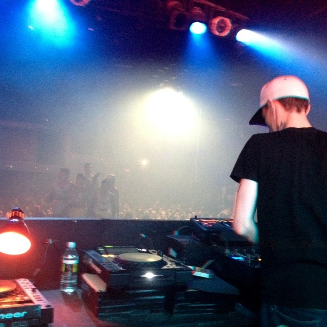 Deadmau5 playing an exclusive set @ The GUVERNMENT nightclub in Toronto for the VELD Music Festival afterparty. He surprised me by playing some banging Techno.  #Deadmau5 #VELDafterparty #VELDfest #Guvernment #GuvLife #EDM #Rave #Techno #Toronto #Party #Club
