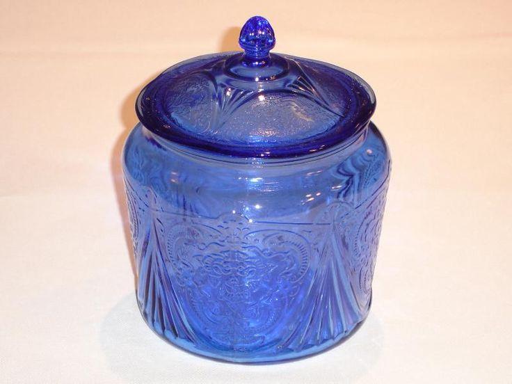 1000 Images About Hazel Atlas Cobalt Blue Royal Lace