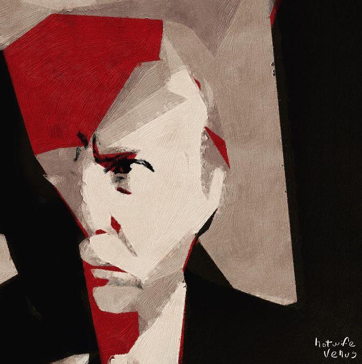 Power - Portrait Inspired by Italian Futurism. #donaldtrump #trump #portrait #futurism #fascistart