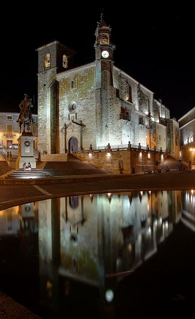 Trujillo church Spain