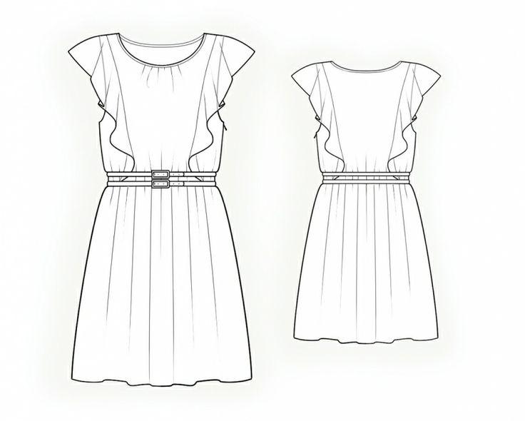 Robe - Patrons de couture #4279