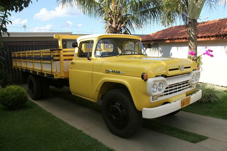 ford f600 | Ford F600 1964 Impecável