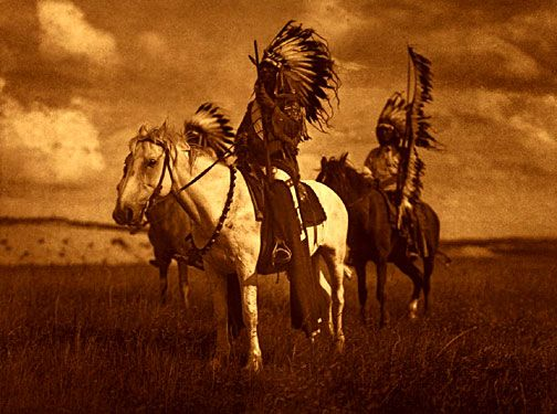 Sioux Chiefs by Edward Curtis…another favorite photographer of mine.