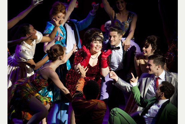 Rebecca Craven (Tracy Turnblad) photo credit Pamela Raith
