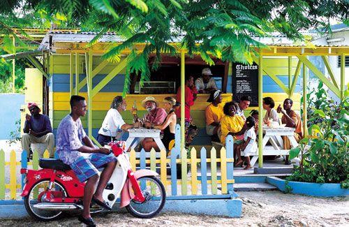 Jamaica! Rum. Beach bars. Badass island music.