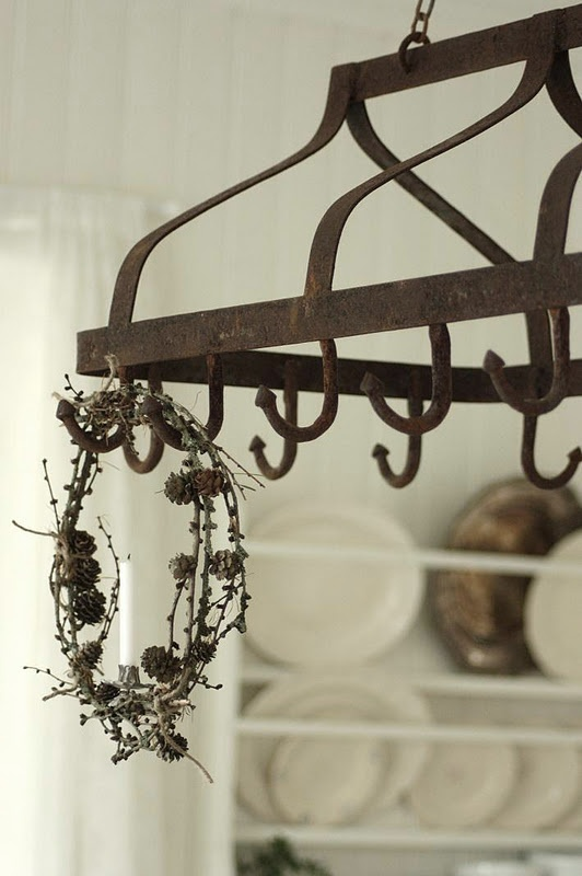 This looks so much like the pot rack I had in my last house