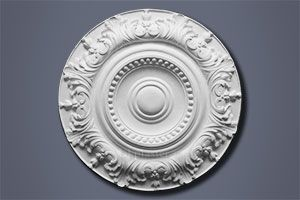 Acanthus and Beading Ceiling Rose CP215
