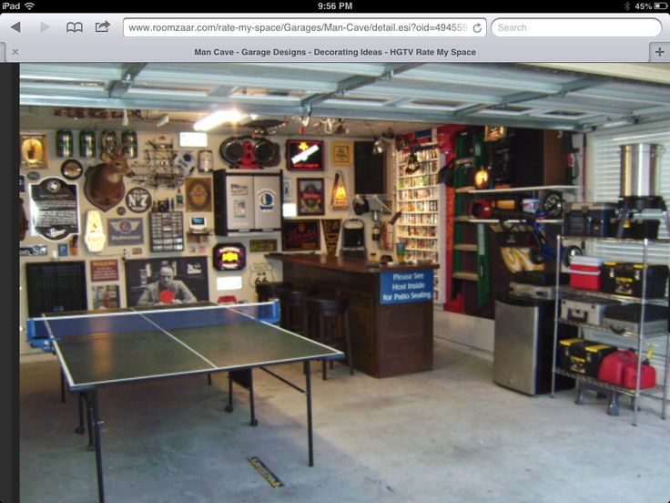 Man Cave Kit : Best garagens images on pinterest garages garage and