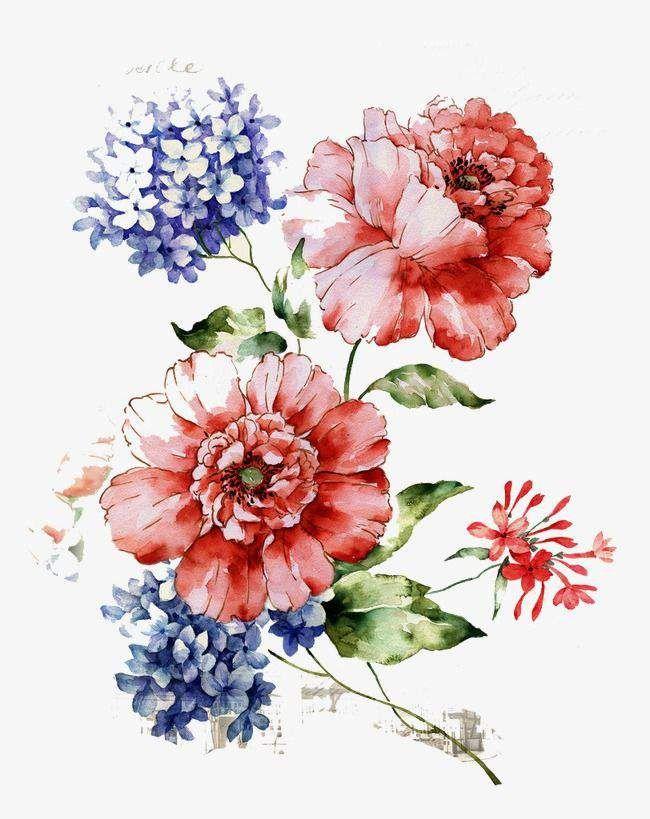 نتیجه تصویری برای Vintage Flower Pattern Png With Images Vintage Flowers Wallpaper Watercolor Flowers Digital Flowers