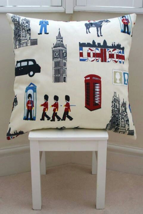 London Cushion - £20.00