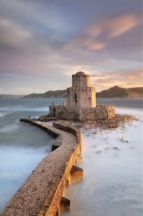 Ancient Fortress of Methoni -- Methoni, Peloponnese, GreeceMethoni, Mary With, Beautiful, Greece, Castles, Ancient Fortress, Travel, Places, Marykay