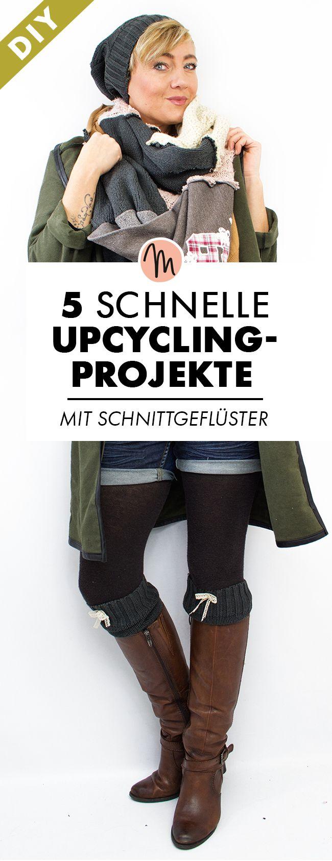 5 schnelle Upcycling-Projekte zum Selbermachen via…