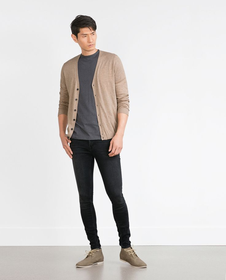 ZARA - MAN - COTTON CARDIGAN